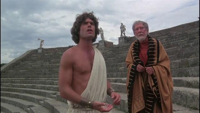 Furia de titanes 1981 Burgess Meredith y Harry Hamlin