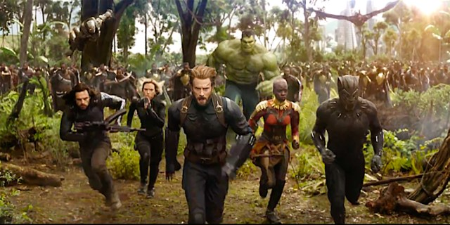 Vengadores Infinity War Batalla