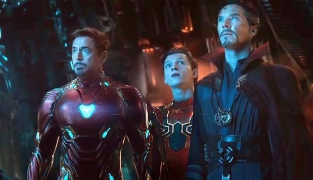 Vengadores Infinity War Iron Man Doctor Strange Spiderman