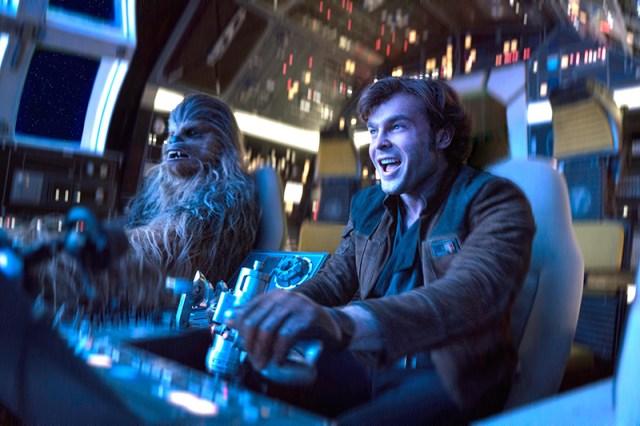 Han Solo Chewbacca Halcón Milenario Star Wars
