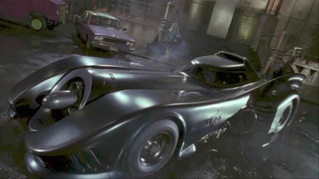 Batmóvil Batman Tim Burton