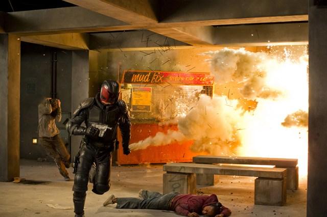 Dredd 2012, Karl Urban