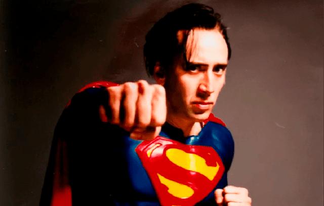 Nicolas Cage Superman Tim Burton