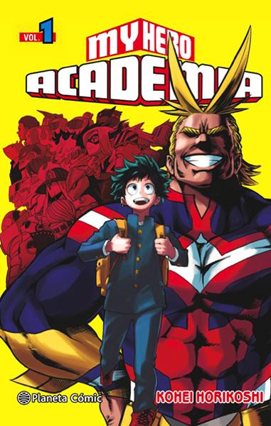 My hero academia comic Planeta Comic