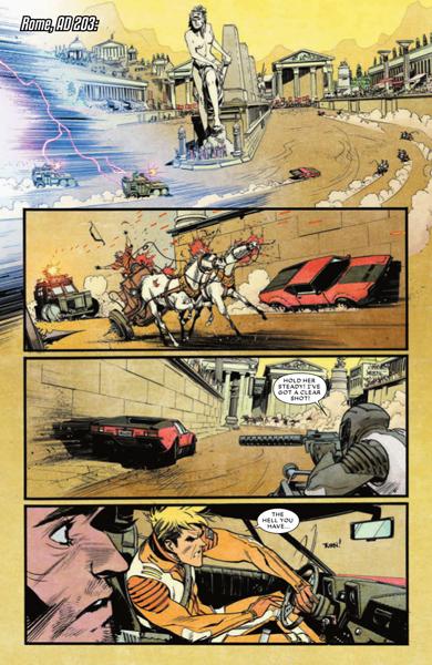 Crononautas Chrononauts Mark Millar  Sean Murphy Image Comics