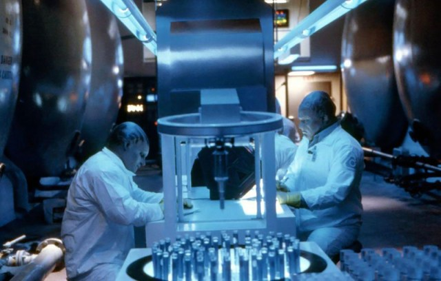 Alien Nation laboratorio drogas