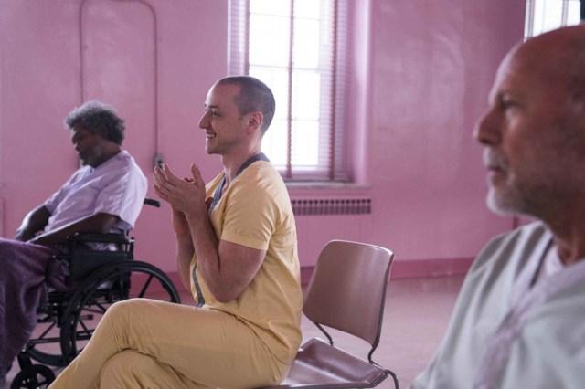 Glass Hospital Psiquiatrico Elijah Kevin Patricia David Dunn