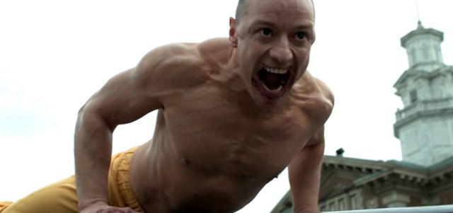 Glass James McAvoy La Bestia