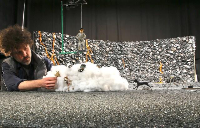Isla de Perros Stop Motion Animación