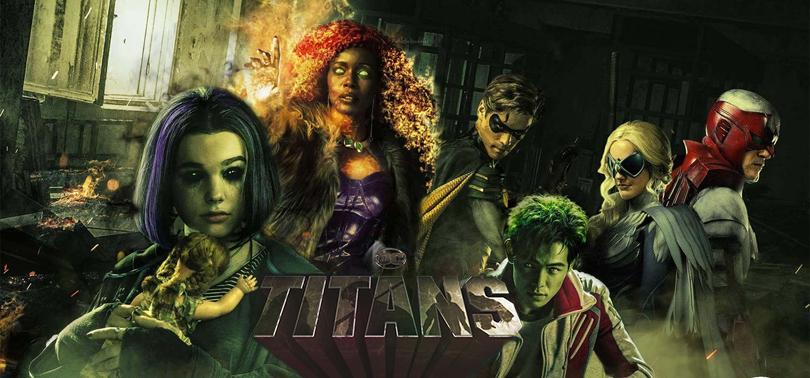 Titanes Serie DC Netflix