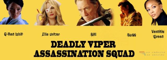 Escuadrón asesino víbora letal Kill Bill Asesinos profesionales