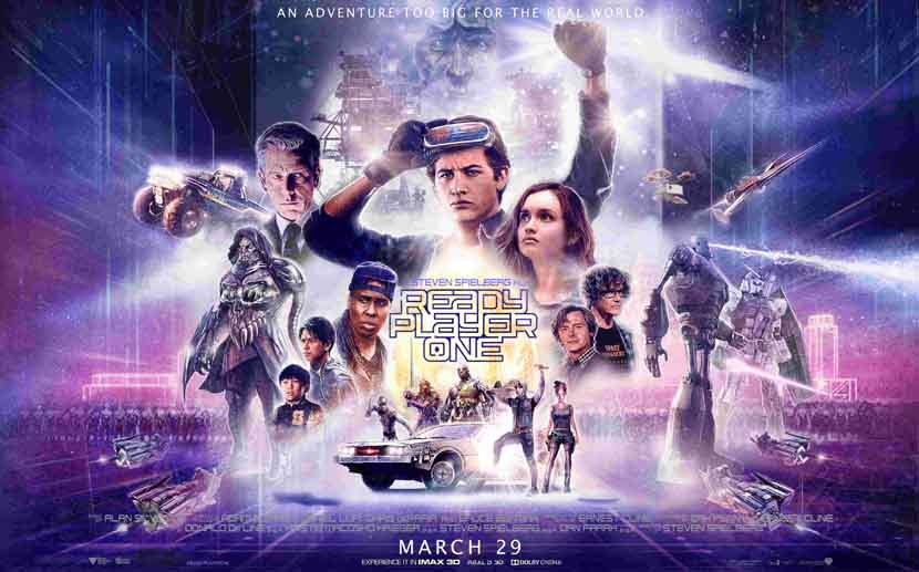 Ready Player One Poster Cronicas de Deckard
