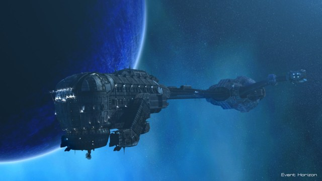 La nave Event Horizon