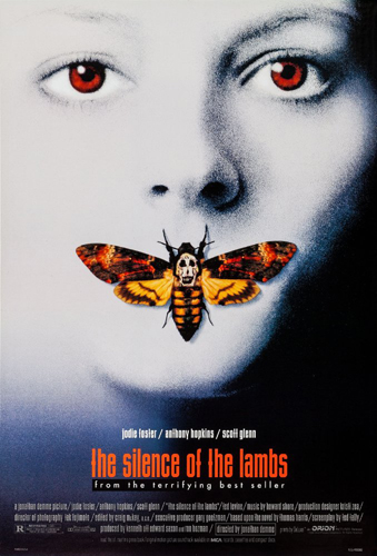 'El silencio de los corderos', poster de la película.