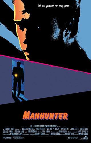 Movie Poster Manhunter de Michael Mann
