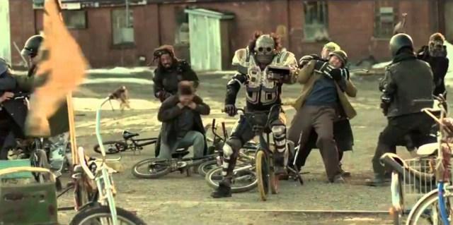 Ciencia ficción apocalíptica en bicis BMX.