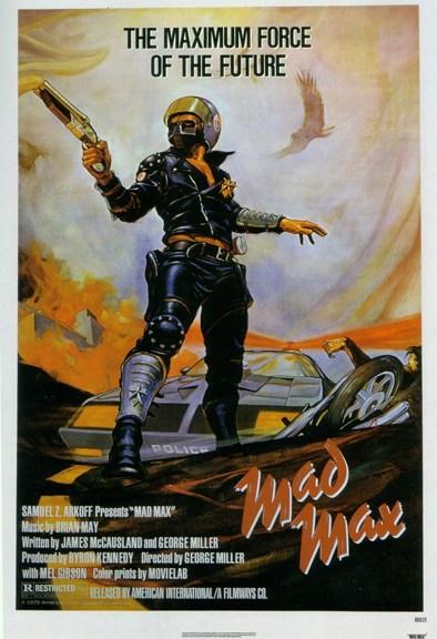 Mad Max 1979 Portada Las Cronicas de Deckard