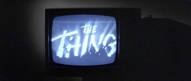 The Thing de Howard Hawks en Halloween.