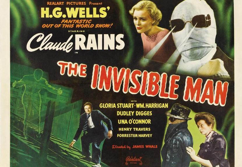 El Hombre Invisible 1933 Portada Las Crónicas de Deckard