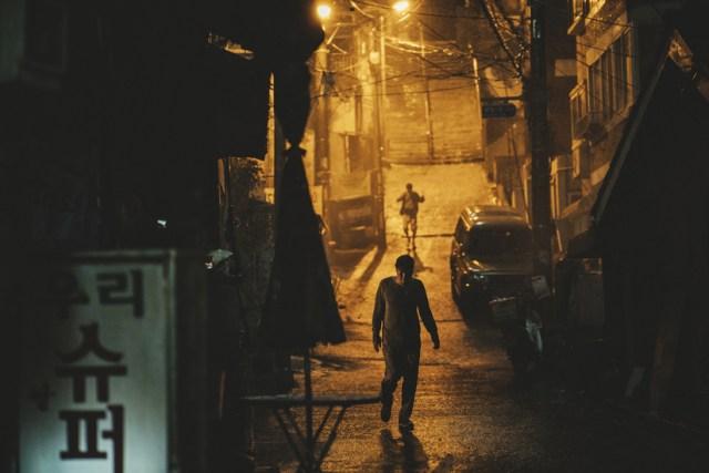 Parásitos, fotografía de Hong Kyung-pyo.