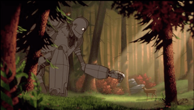 El gigante de Hierro y el respeto de