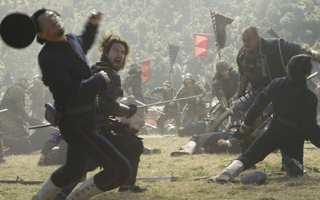 El último Samurái, batalla final.