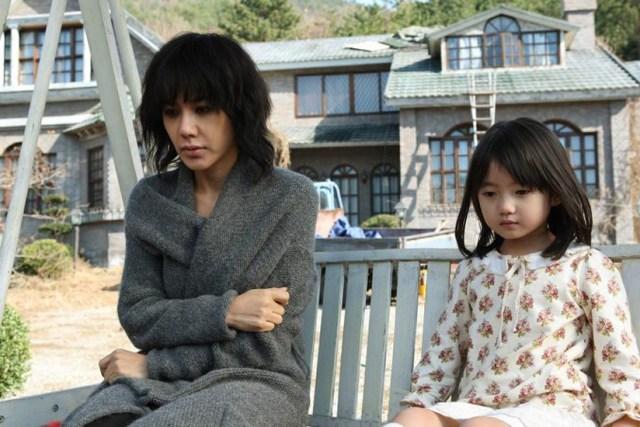 Uhm Jung-hwa en una escena de la película
