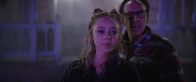 Nicolas Cage y Madeleine Arthur)