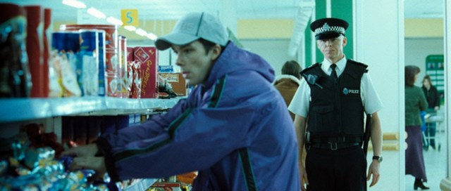 Simon Pegg en 'Hot Fuzz'