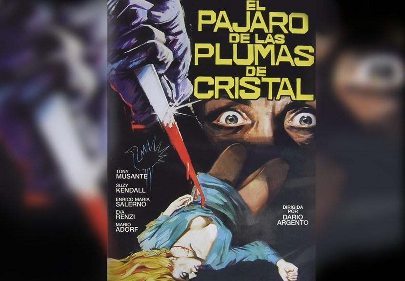 El pájaro de las plumas de Cristal, de Dario Argento. Poster Las Crónicas de Deckard