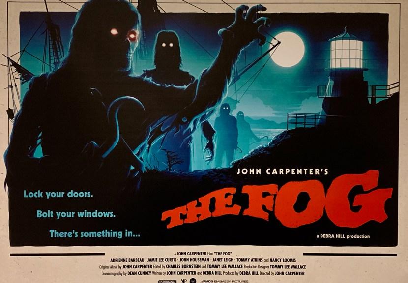 La niebla de John Carpenter, Poster Crítica Las Crónicas de Deckard