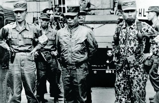 Park Chung-hee en el golpe de estado de 1961
