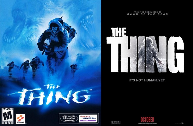 The Thing, videojuego 2002. The Thing 2011