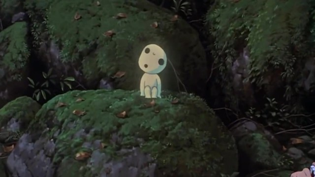 Kodamas La Princesa Mononoke