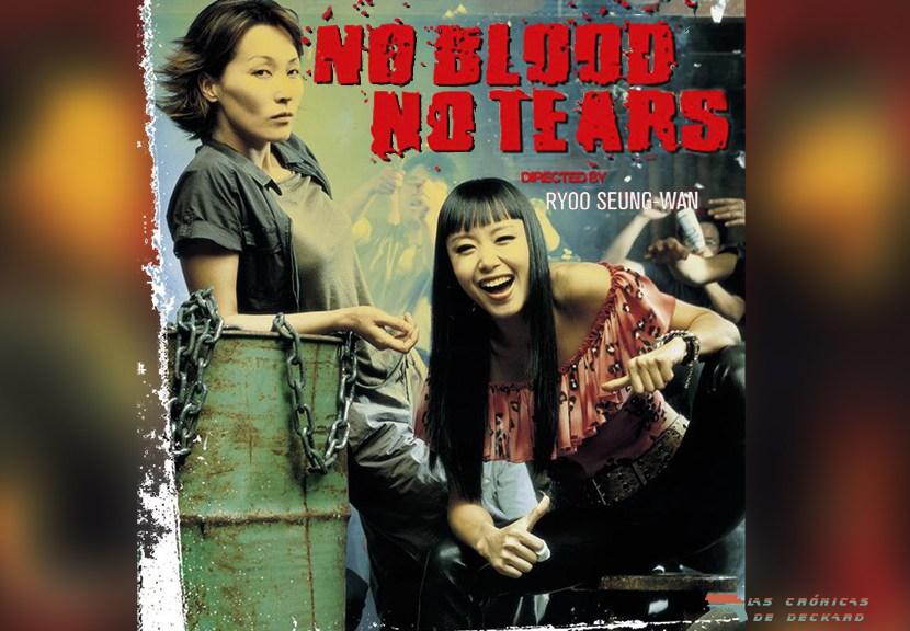 No Blood No Tears, Portada para Las Crónicas de Deckard