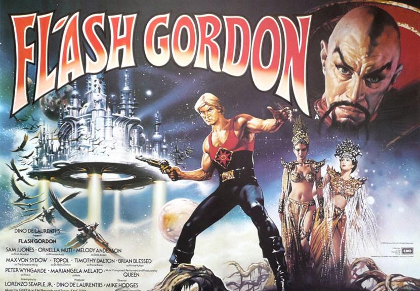 Flash Gordon 1980 Poster Las Crónicas de Deckard