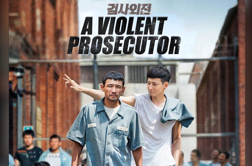 A Violent Prosecutor Poster Crítica Las Crónicas de Deckard