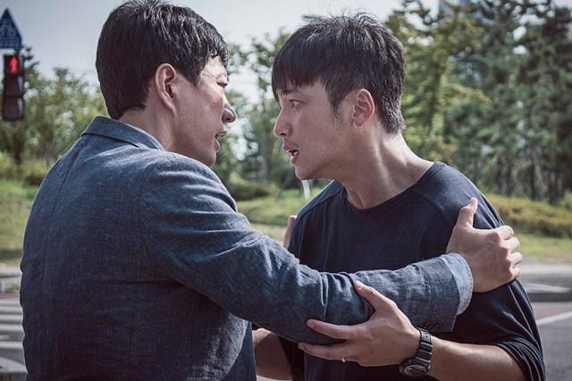 A Day 2017. Los actores Kim Myung-min y Byung Jo-han