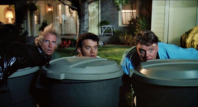 The Burbs (1989, Joe Dante): Bruce Dern, Tom Hanks, Rick Ducommun.