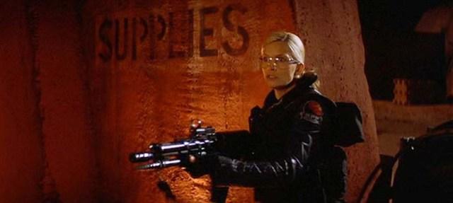 Natasha Henstridge in Ghosts of Mars