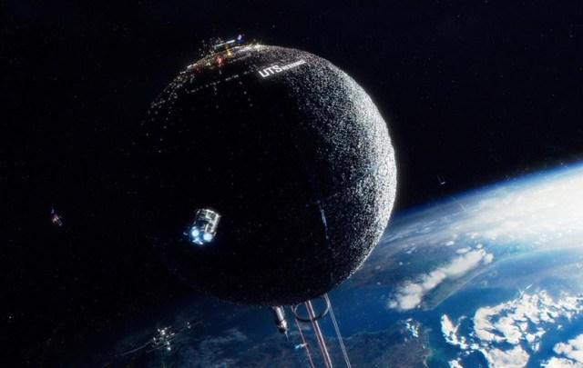 Space Sweepers. Satélite espacial