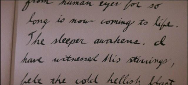 Texto del diario de El Príncipe de las Tinieblas. (John Carpenter, 1987)