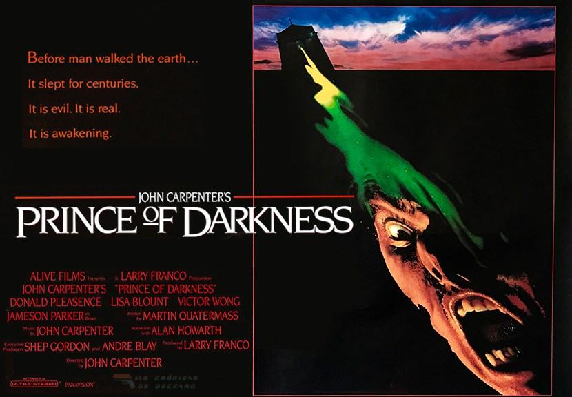 Poster El Príncipe de las Tinieblas de John Carpenter. Crítica Las Crónicas de Deckard