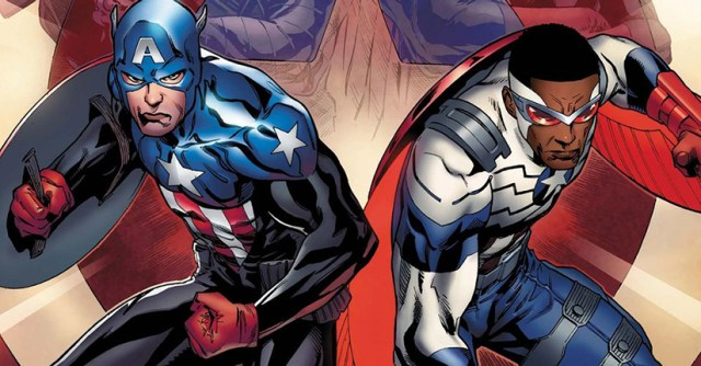 Bucky Barnes y Sam Wilson como Capitán América.