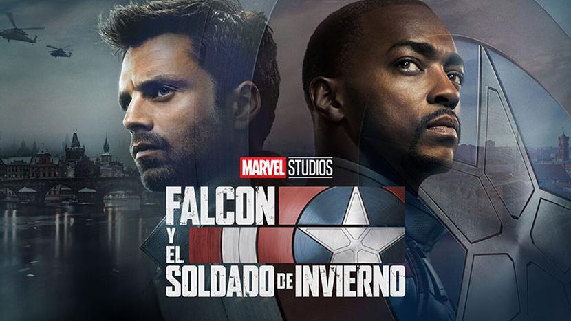 Poster de la serie Falcon y el Soldado de Invierno Critica de Las Crónicas de Deckard