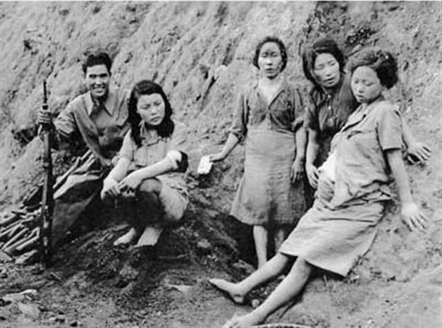 La ocupación japonesa de Corea. Mujeres Confort.