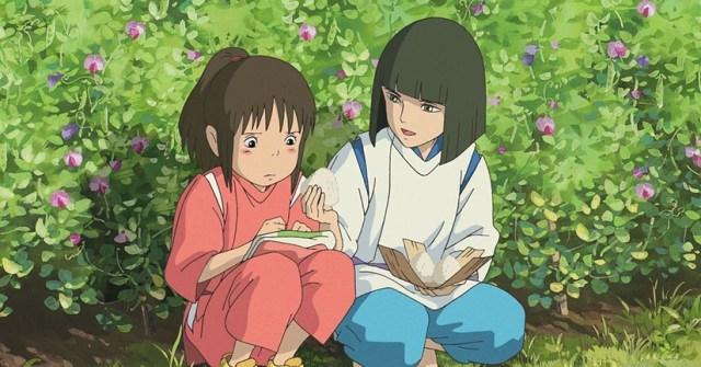Chihiro y Haku. Recuperando los recuerdos