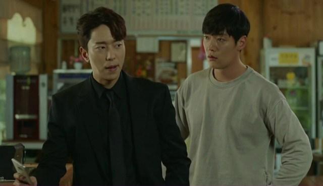 "Choi Jin-hyuk y Yoon Hyun-min en el Drama Coreano ""Tunnel"""