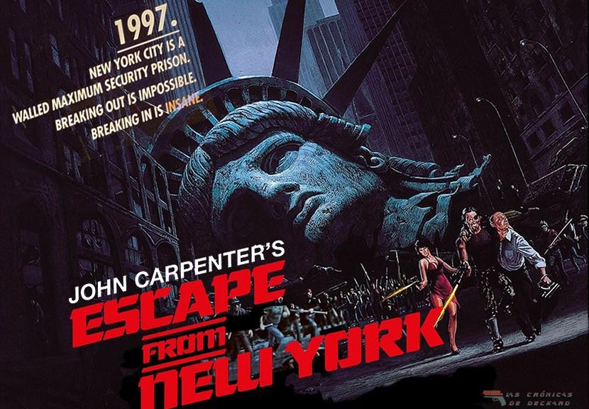 Poster 1997 Rescate en Nueva York de John Carpenter Critica Las Crónicas de Deckard