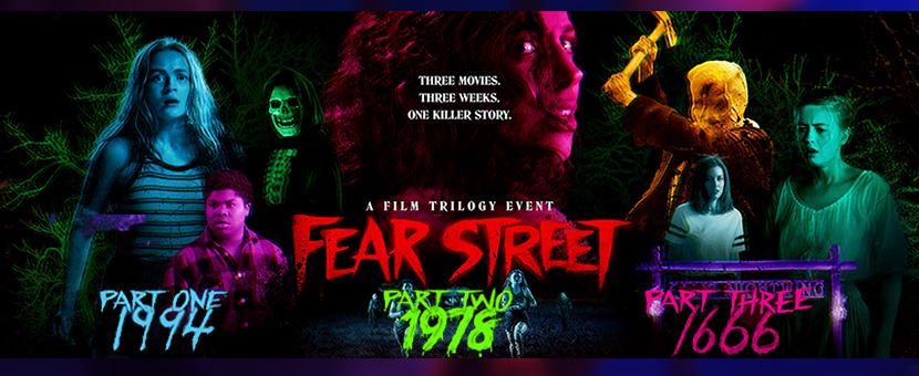Poster Trilogia La Calle del Terror Fear Street 1994 1978 1666 Critica Las Crónicas de Deckard
